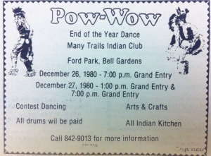 BG pow wow flyer photo