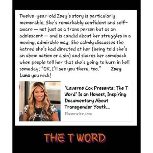Laverne Cox on Zoey's spirit_The T Word_photo credit Ofelia Barba